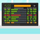 Background of schedule board. vector illustration