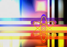Background science Stock Image