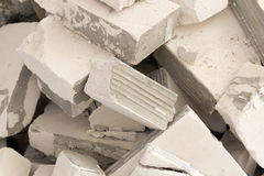 Background of scrap cement old Royalty Free Stock Photo