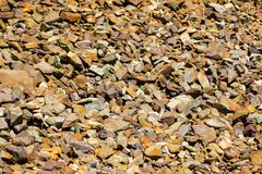 Background with scree. Abstract natural background with scree stones Royalty Free Stock Photo