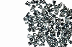 Background of screws for personal computer Royalty Free Stock Images