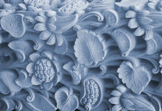 Background scrollwork. Beautiful background Marble scrollwork and flowers Stock Images