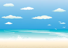 Background sea Royalty Free Stock Images