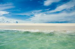 Background of sea and sky Royalty Free Stock Photography