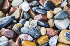 Background of sea stones stock image