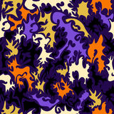 The background seamless. Seamless abstract hand-drawn pattern Stock Photography