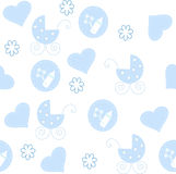 The Background seamless baby. royalty free stock photo