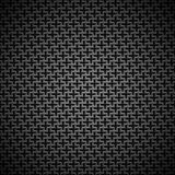 Background with Seamless Black Carbon Texture Royalty Free Stock Photography