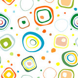 Background seamless from circles. Stock Image
