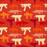 Background seamless depicting weapons Stock Photo