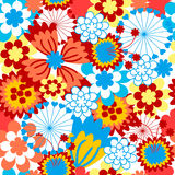 The Background seamless floral. Royalty Free Stock Photos
