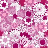 The Background seamless floral. Royalty Free Stock Photography