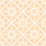 Background of seamless floral pattern Stock Images