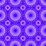 Background with seamless geometric lace patterns in purple gradient. Vector decorative tile. Vector eps10 Stock Illustration