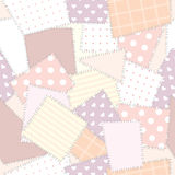 Background seamless patchwork. Seamless background pattern. Will tile endlessly Royalty Free Stock Images