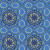 Background with seamless pattern in arabic style. Background with seamless pattern in arabic style vector illustration