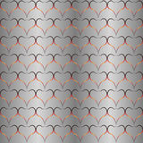 Background, seamless pattern, hearts Stock Photo