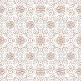 Background with seamless pattern in islamic style Stock Images