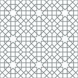 Background with seamless pattern in islamic style. Eastern geometric ornament. Arabic seamless pattern Stock Photo