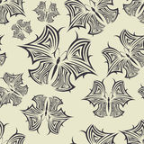 Background seamless pattern in Maya style Stock Photography