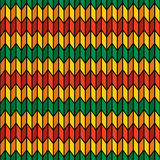 Background seamless pattern in rasta colors. Vector Stock Image