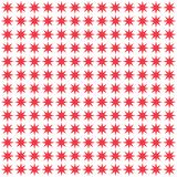 Background seamless pattern with red star Vector. Abstract background.  Royalty Free Stock Photos