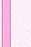 Background seamless pink pattern with stripes Royalty Free Stock Photos