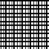 Background of seamless plaid pattern. Vector Illustration. Background of seamless plaid pattern. Horizontal and vertical black bands. Checked, square, plaid royalty free illustration