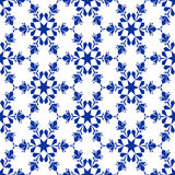 Background_seamless_ snowflake Stock Photography