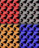 Background - seamless texture - triangles. This is the background. This is a seamless texture. It has a lot of triangles of different colors Stock Image