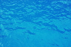 Background of blue water. Ionian Sea. Seascape. Background of blue water in Ionian Sea. Seascape Stock Photos