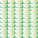 Background with semicircles in various shades of green Stock Images