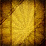 Background with sepia film flame Stock Photo