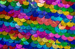 Background sequin Glitter background with blinking lights. royalty free stock photos