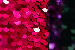 Background sequin Glitter background with blinking lights. royalty free stock images