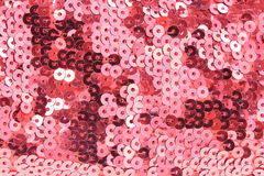 Background of sequined fabric Royalty Free Stock Photography