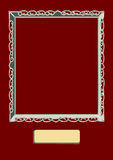 Painting Canvas Frame Border Cartoon Royalty Free Stock Photos