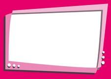 Pink Screen Television- Cartoon Stock Photos