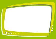 Green Screen Television- Cartoon Royalty Free Stock Photography