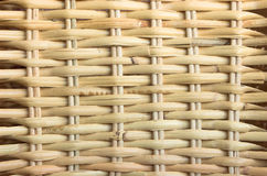 Background series wicker. Close up of a hand woven wicker basket weave pattern background Stock Image