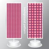 Background set circle Jumbo Polka Dots, Small Polka Dots  Stock Photography