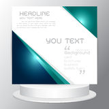 Background set tri fold business brochure  cards flyers template Stock Photo