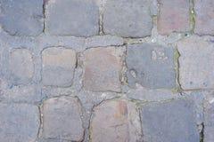 Background of sett. Cobblestone pavement Royalty Free Stock Images