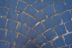 Background of sett. Cobblestone pavement Royalty Free Stock Photography