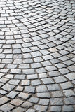 Background of sett paving. Royalty Free Stock Photos