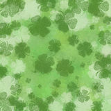 Background Shamrock 2 Stock Images