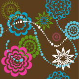 Background with shapes. Vector Illustration Stock Photo