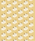 Background with sheep Stock Photo