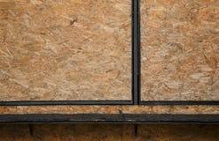 Background shelf plywood Stock Photography