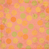 Background Sherbet Dots Royalty Free Stock Image